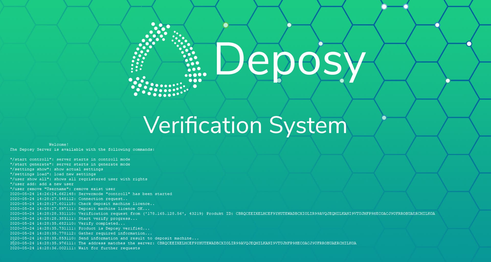 deposy verification system