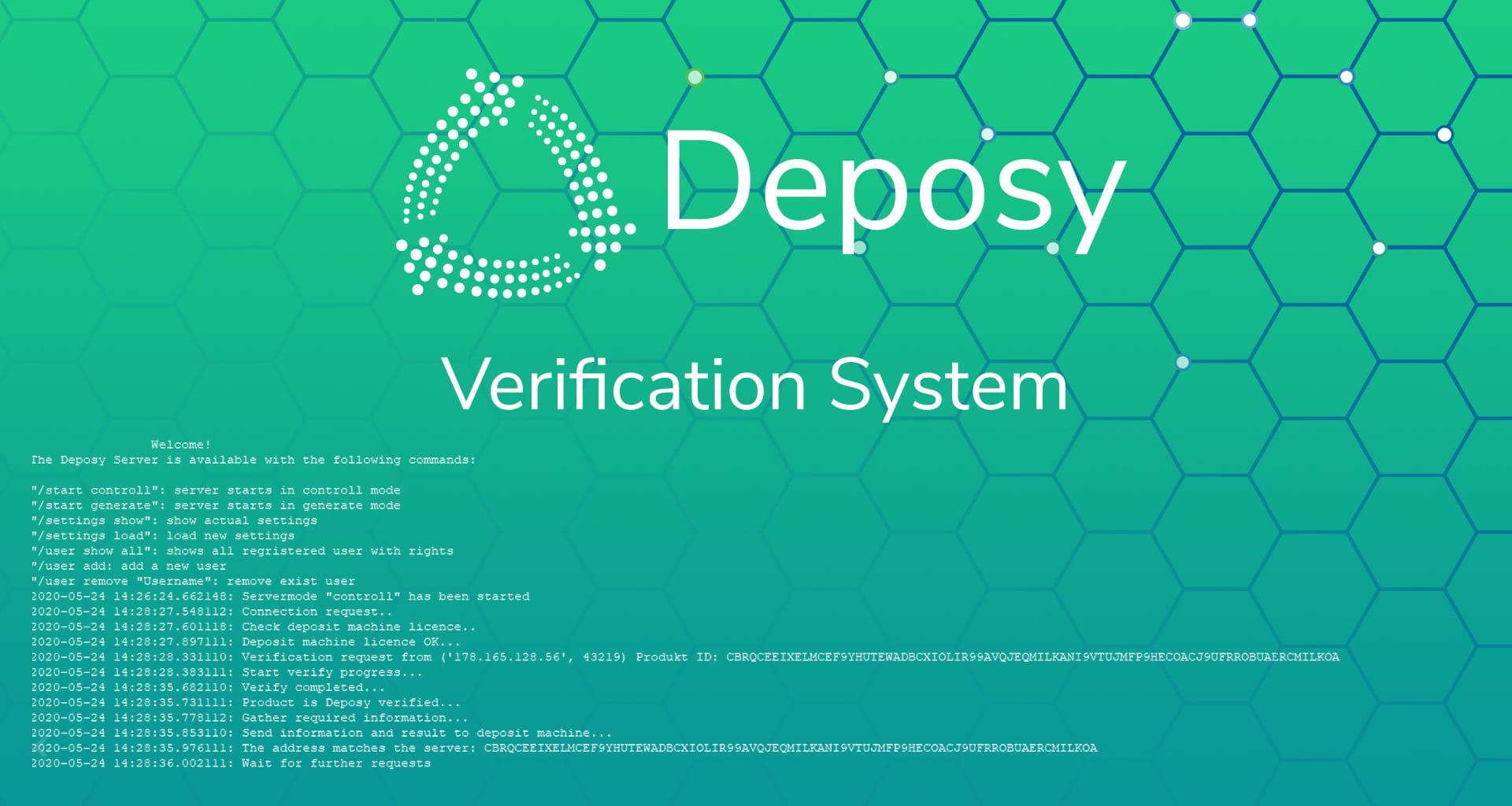 deposy verification system