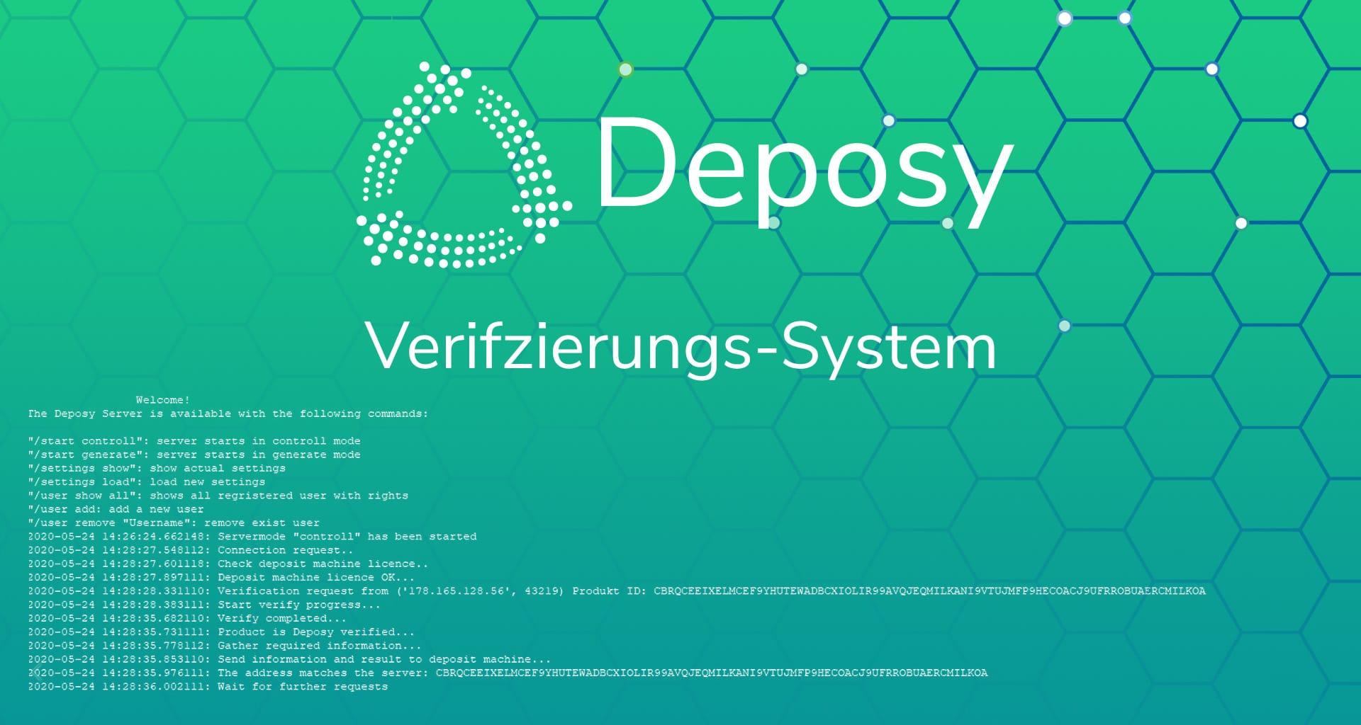 Deposy Verifizierungs System
